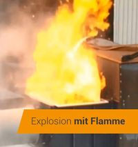Explosion with Flame